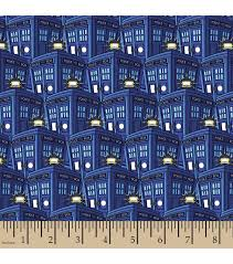 Joanns Halloween Fabric Doctor Who Fleece Fabric 59