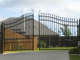 metal fence gates crafts home