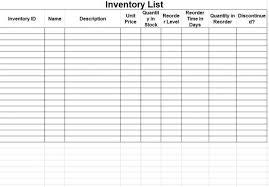 Bar Liquor Inventory Spreadsheet Printable Blank Inventory Spreadsheet Automotive