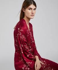 robe de chambre robe de chambre fleur orientale nouveautés pyjamas et homewear