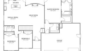 open house floor plans rambler floor plans design lines inc plan 1274 rambler home
