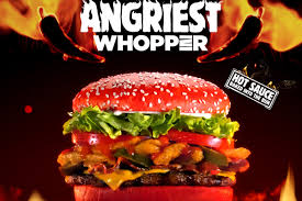 halloween whopper burger king burger king seeing red with angriest whopper cmo strategy adage