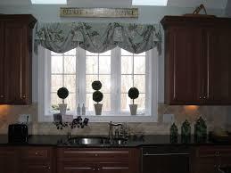 Valance For Kitchen Window Fair Kitchen Window Valances Easy Interior Design Ideas For
