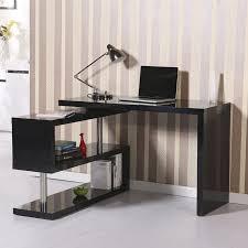 L Computer Desk Rotating L Shape Computer Desk Reviews Allmodern