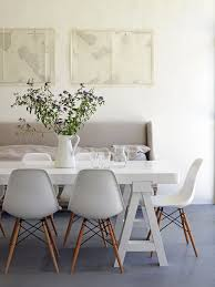 Replica Eames Dining Table White Modern Dining Chairs Chairs Pinterest Modern Dining