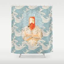 Curtain Tattoo Tattoo Shower Curtains Society6