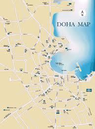 doha qatar map large doha maps for free and print high resolution and