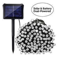 qedertek solar string lights qedertek solar string lights 72ft 200 led 8 lighting modes