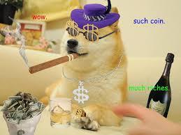 Dogecoin Meme - internet meme dogecoin a hotter currency than bitcoin