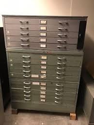 blueprint flat file cabinet vintage architectural blueprint flat file map art cabinet 15 drawers