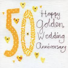 50th wedding anniversary greetings 50th wedding anniversary vintage range golden anniversary card