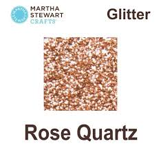 martha stewart paint ms craft glitter rose quartz pl32173