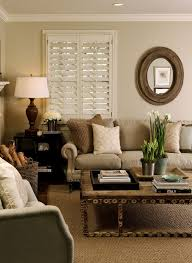 Brown And Beige Living Room Home Design Ideas - Home decorating ideas living room colors