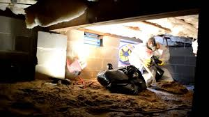 Sewer Backup In Basement Cleanup Mastertech Raw Sewage Cleanup In A Nj Crawl Space Youtube