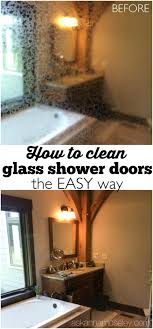 Best Thing To Clean Shower Doors How To Clean Glass Shower Doors The Easy Way Remedies