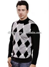 formal sweaters argyle pattern formal pullover knitted sweaters