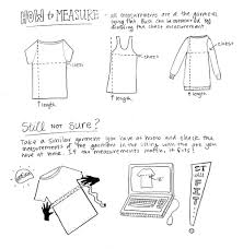 design clothes etsy a fit and measuring guide for buying an etsy garment online two