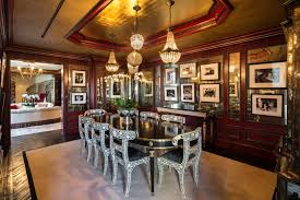 Traditional Dining Room With Hardwood Floors  Chandelier In New - Traditional dining room chandeliers