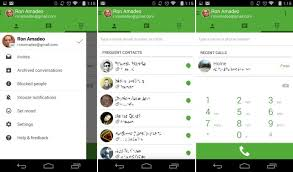 hangouts app android hangouts gets a update including voice