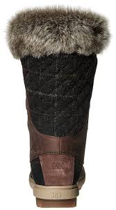 womens boots dublin helly hansen s w garibaldi vl cold weather boot brown