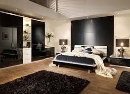 simple masculine bedroom modern closet cabinet black fabric