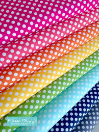 best cotton best seller rainbow polka dot fabric cotton fabric by the yard