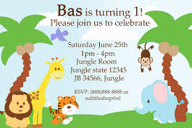 Free Invitation Birthday Cards Safari Birthday Invitations U2013 Gangcraft Net