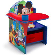 toddler desk staggering chair desk with storage bin disney mickey