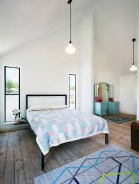 Vanity In Bedroom Bedroom Pitched Ceiling Bedroom Industrial With Graphic Area Rug