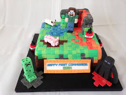 minecraft cake chocolate biscuit cake covered with minecra u2026 flickr