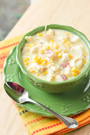 cooking light october 2017 quick chicken corn chowder macaroni and cheesecake