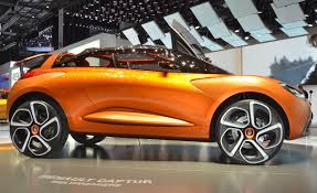 renault orange renault captur concept u0026ndash news u0026ndash car and driver