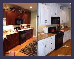 painting cabinets white before and after painting kitchen cabinets before and after image of painted oak