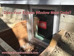 do i really need an egress window