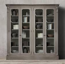 restoration hardware china cabinet restoration hardware china cabinet amazing james grey glass 4 door