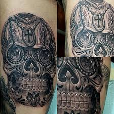 orange county tattoo artist rafael barragan black and grey