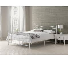 buy home darla double bed frame white at argos co uk your