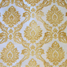 Black And White Striped Upholstery Fabric Gold Cut Velvet Designer Upholstery Fabric Godiva