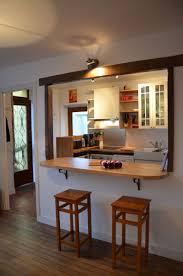 cuisine bar am駻icain meuble bar cuisine ouverte idées de cuisines ouvertes pinacotech