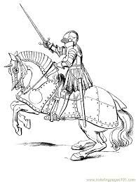 castle knights coloring pages getcoloringpages