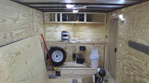 V Nose Enclosed Trailer Cabinets by Enclosed Trailer Setups Page 29 Trucks Trailers Rv U0027s U0026 Toy