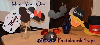 how to make your own photo booth how to make disney photobooth props with free printables 4 the