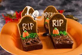 tombstone brownies for halloween treats happenings u0026 holidays