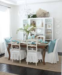 Cottage Style Dining Room An Early Spring Coastal Style Dining Table Starfish Cottage