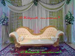indian wedding chairs for and groom wedding sofa wedding walkways aisle columns pillars wedding