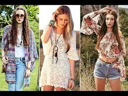 hippie style fashion hippie lookbook youtube