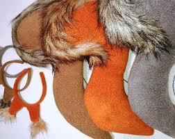 squirrel costume dress headband tail kids squirrel