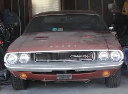 1970 71 dodge challenger for sale garage find 1970 dodge challenger rt burnt orange great