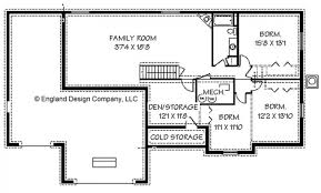 beautiful home floor plans with basements new home plans design