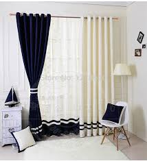 popular curtains popular navy style home goods solid color blackout curtains with